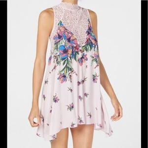 FP top dress tunic lace intimates XS